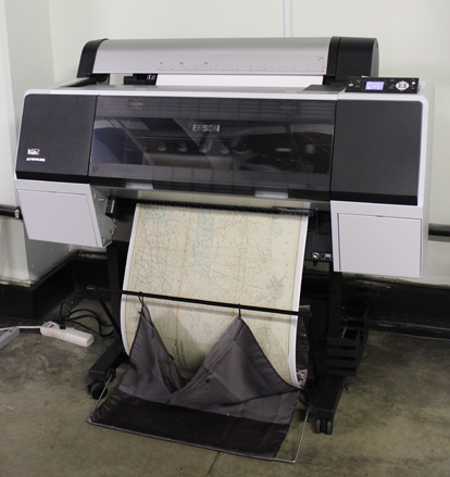 An archival-quality reproduction is printed on the Epson 7900