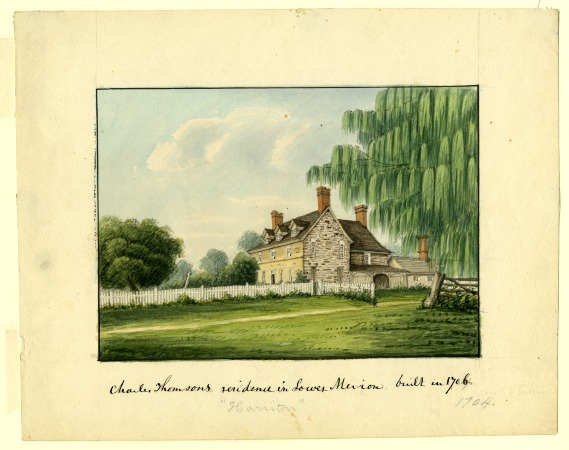 Charles Thomson's Residence Harriton in Lower Merion