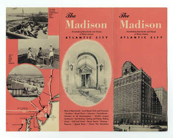 Brochure for the Hotel Madison