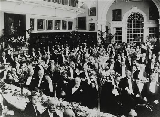 HSP Exhibtion, 1910 Celebration Gala, Institutional Archives FULL