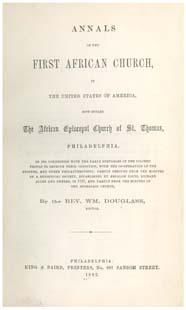 Richard Allen, First African Church HALF