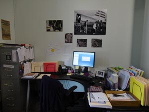 My desk, aka my home away from home