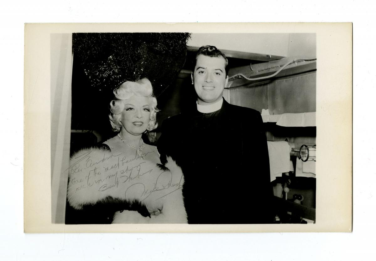 Mae West and Rev. Andre Penachio